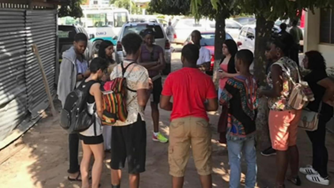Camden students travel to Ghana