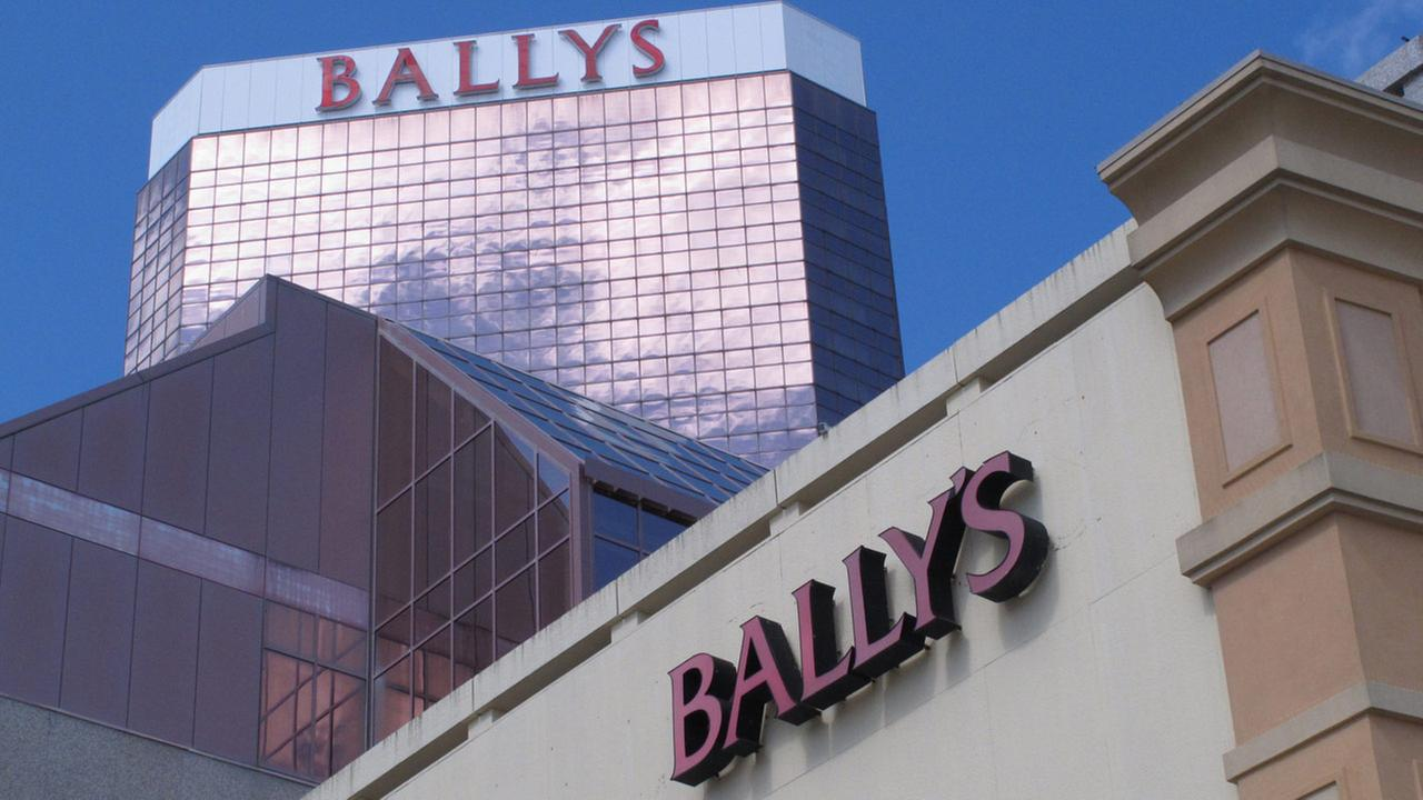File photo shows the exterior of Ballys casino in Atlantic City, N.J.