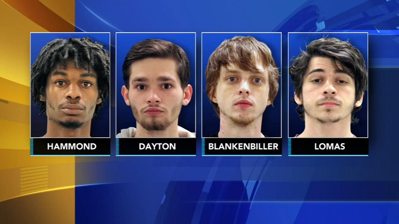 4 men arrested after man, 20, and teen shot in New Castle, Del.