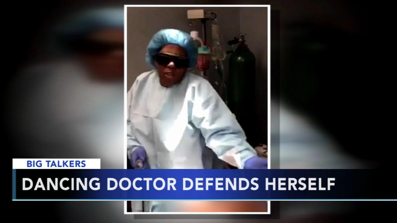 Dancing doctor defends herself after being suspended and sued