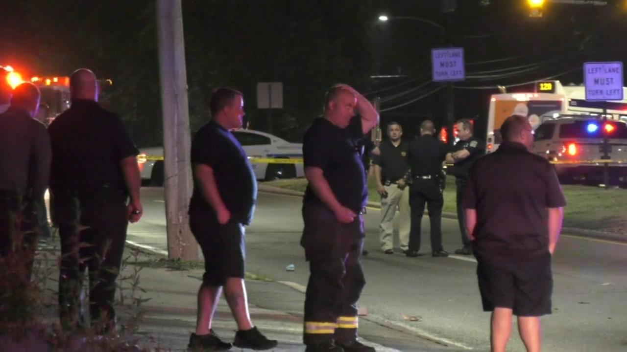 Pedestrian dead after crash in Upper Darby