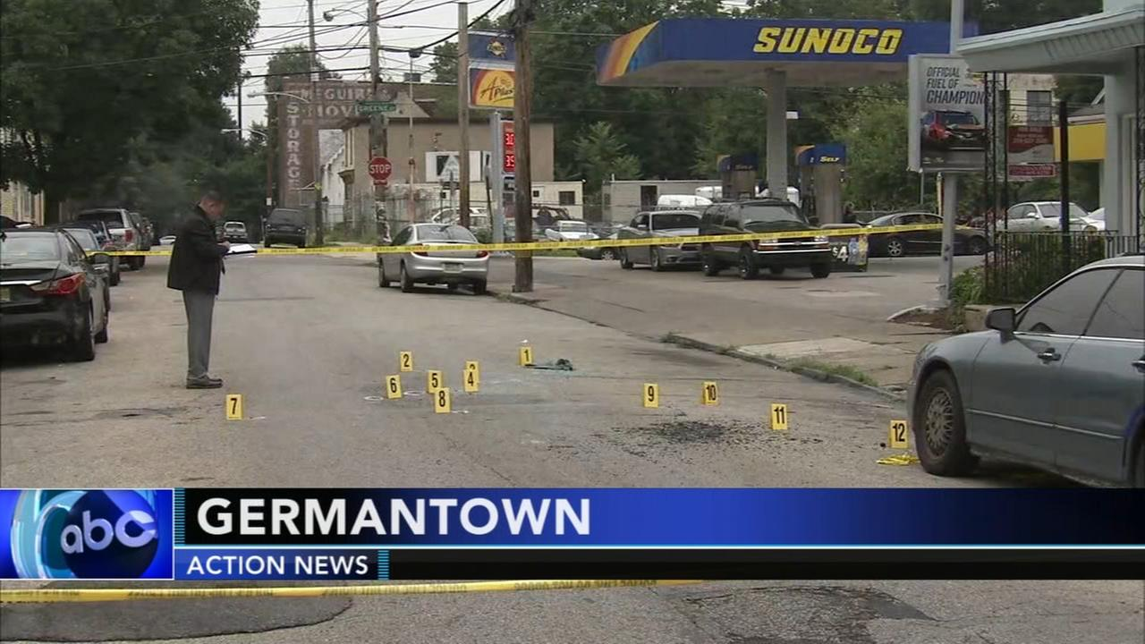 Man shot in vehicle in Germantown