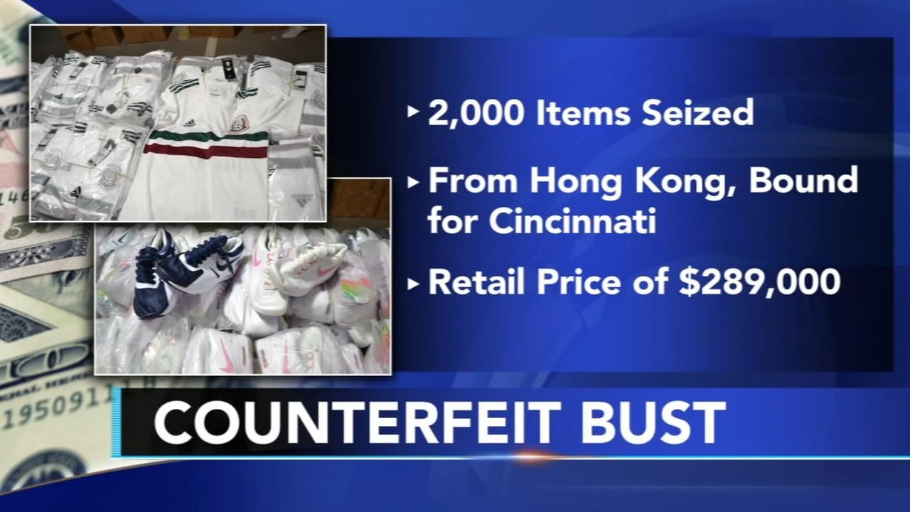 $289k worth of counterfeit goods seized in Philadelphia