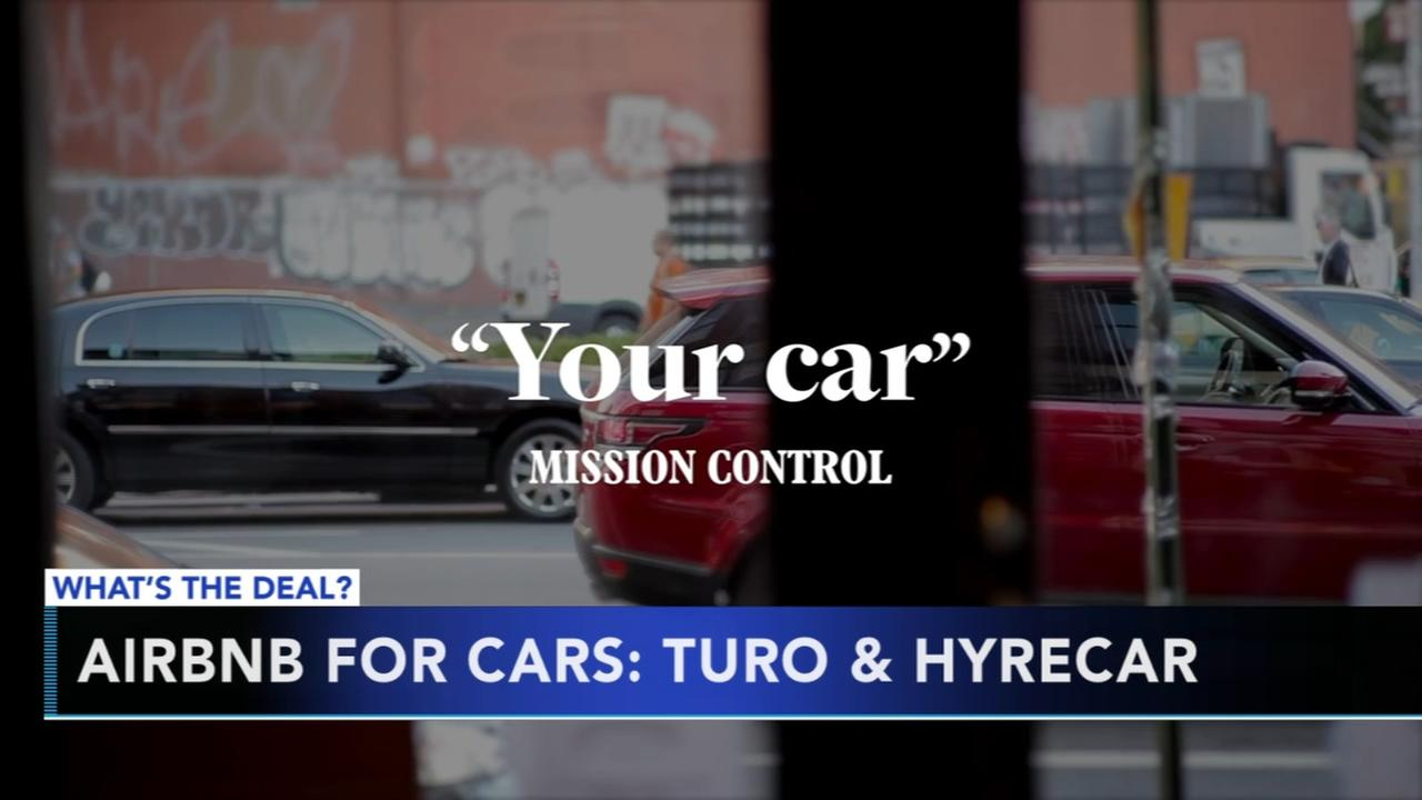 Airbnb for cars: Turo and HyreCar