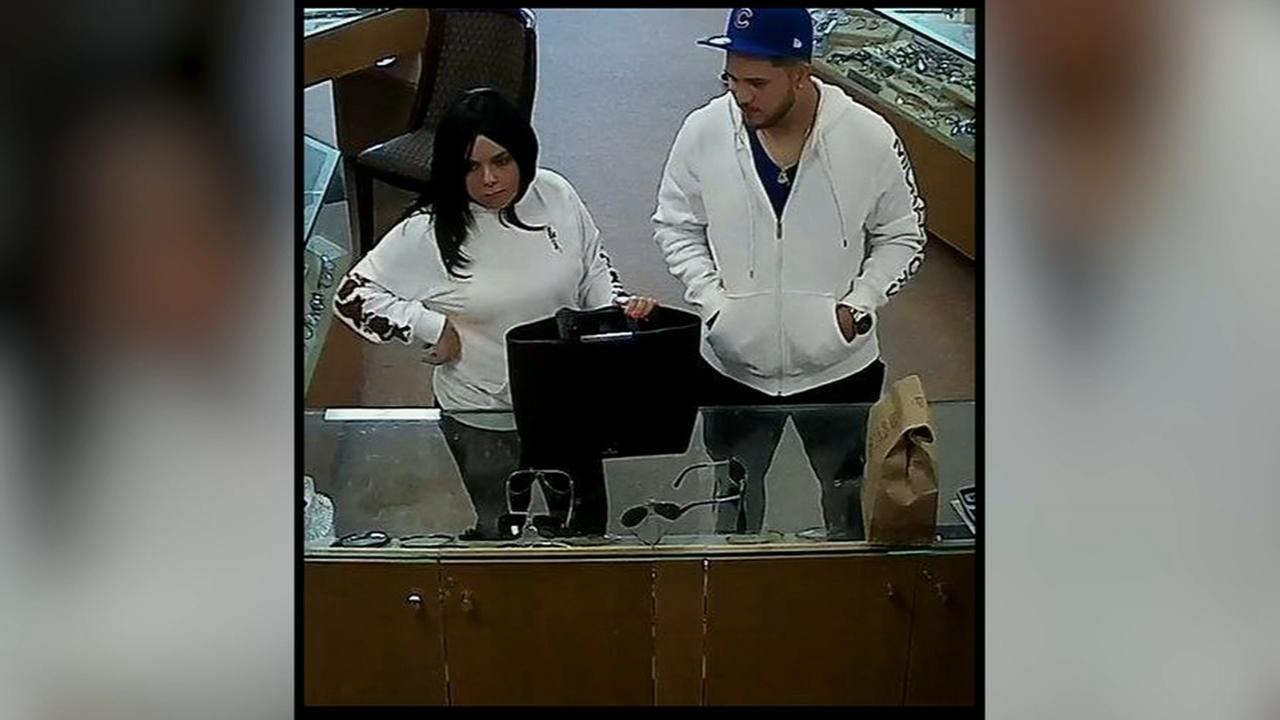 Duo accused of credit card fraud