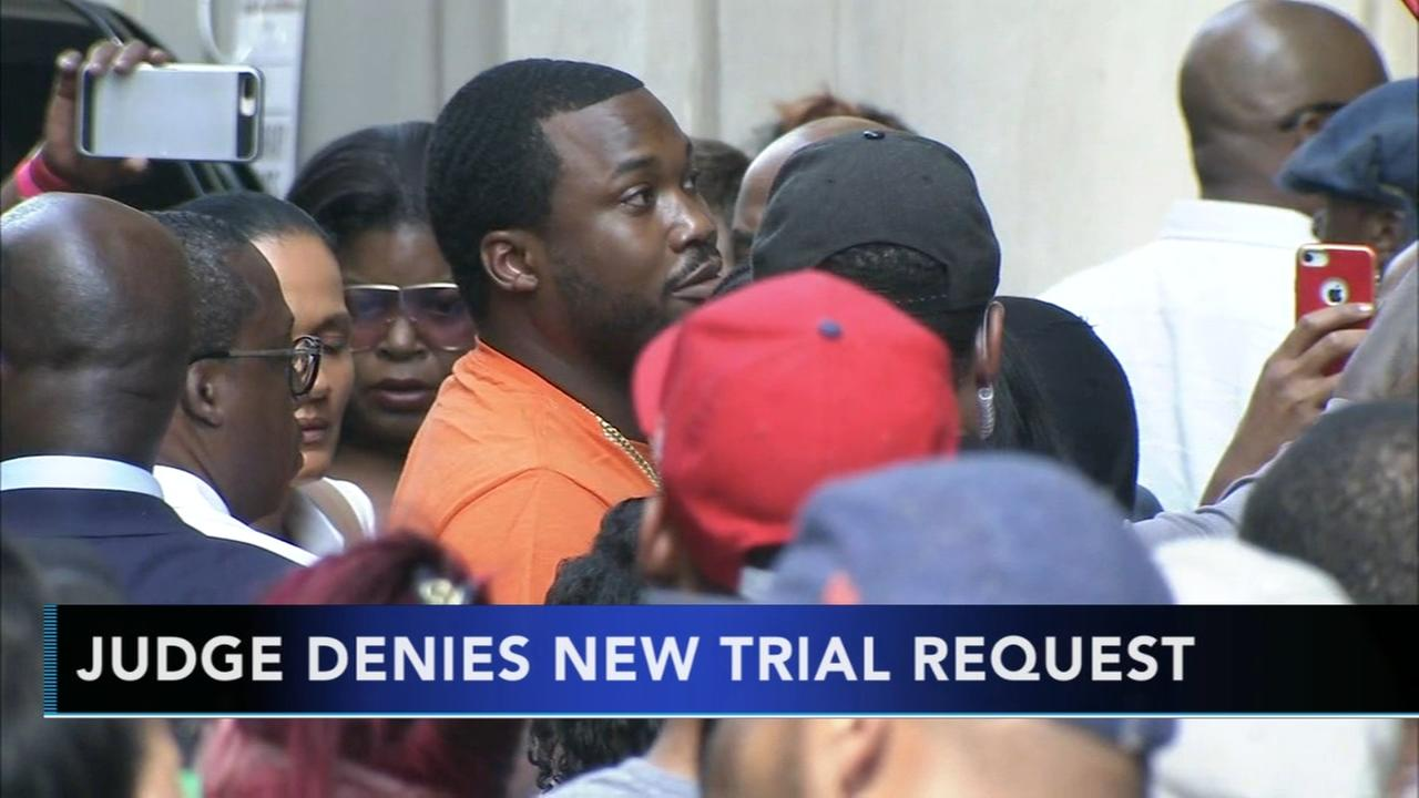 Judge denies rapper Meek Mills request for new trial