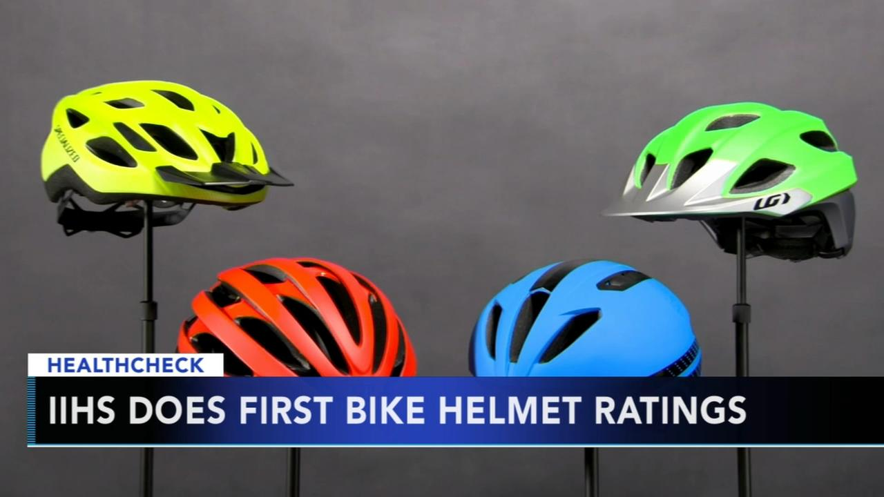 IIHS does first bike helmet ratings
