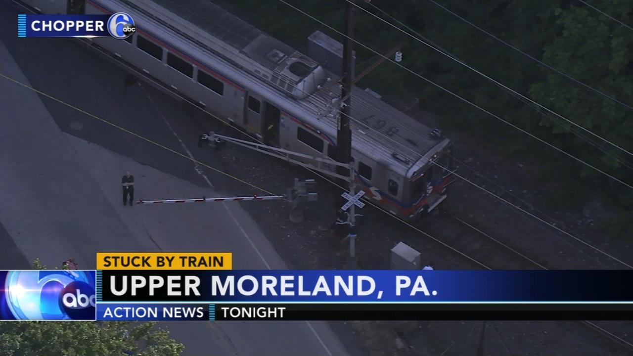 Man struck by train in Hatboro