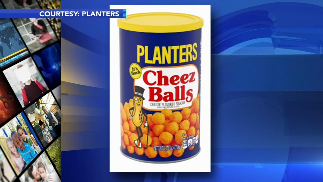 Planters bringing back Cheez Balls