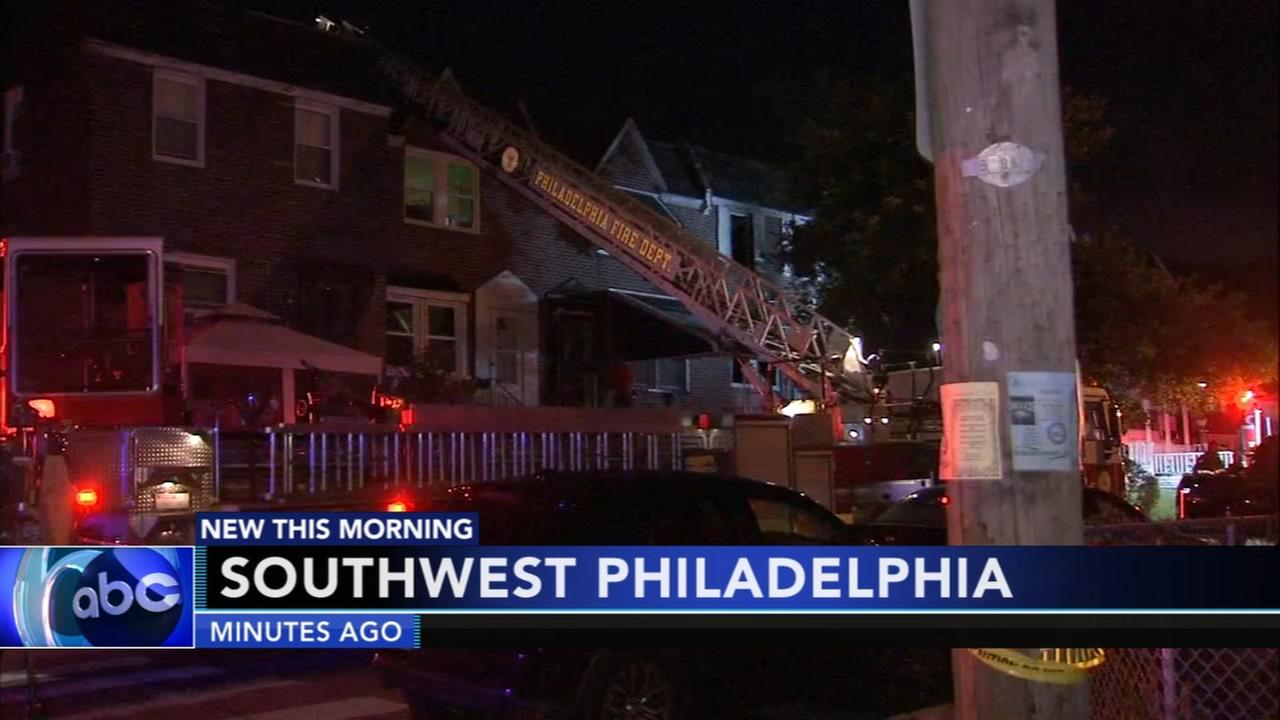 1 injured in Southwest Philadelphia fire