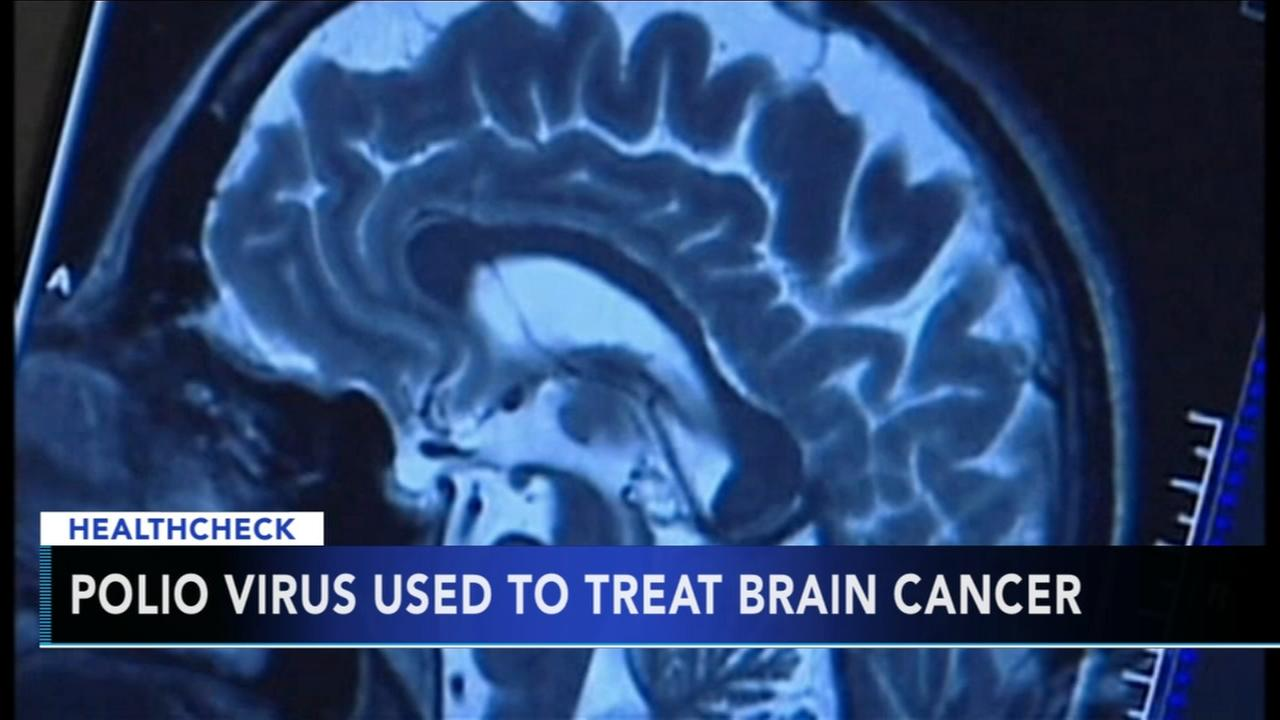Polio virus used to treat brain cancer
