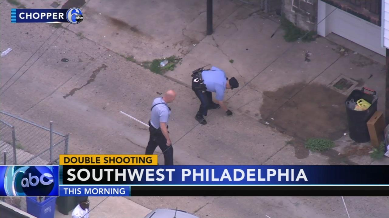 Double shooting in Southwest Philadelphia