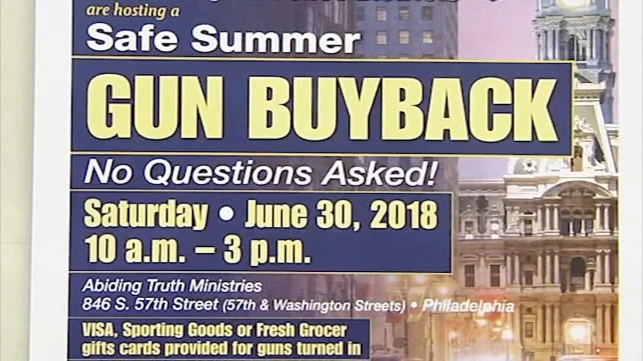Police will buyback guns in SW Philly