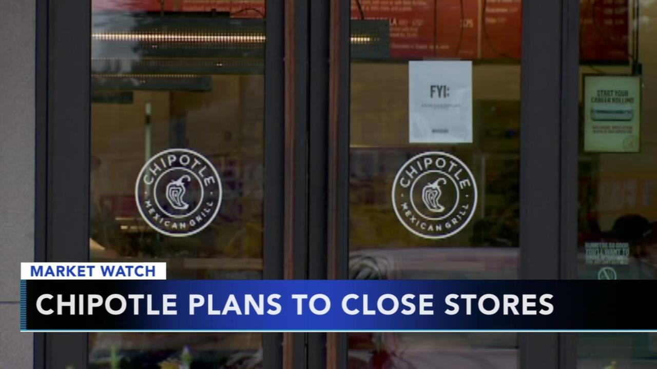 Chipotle plans to close stores
