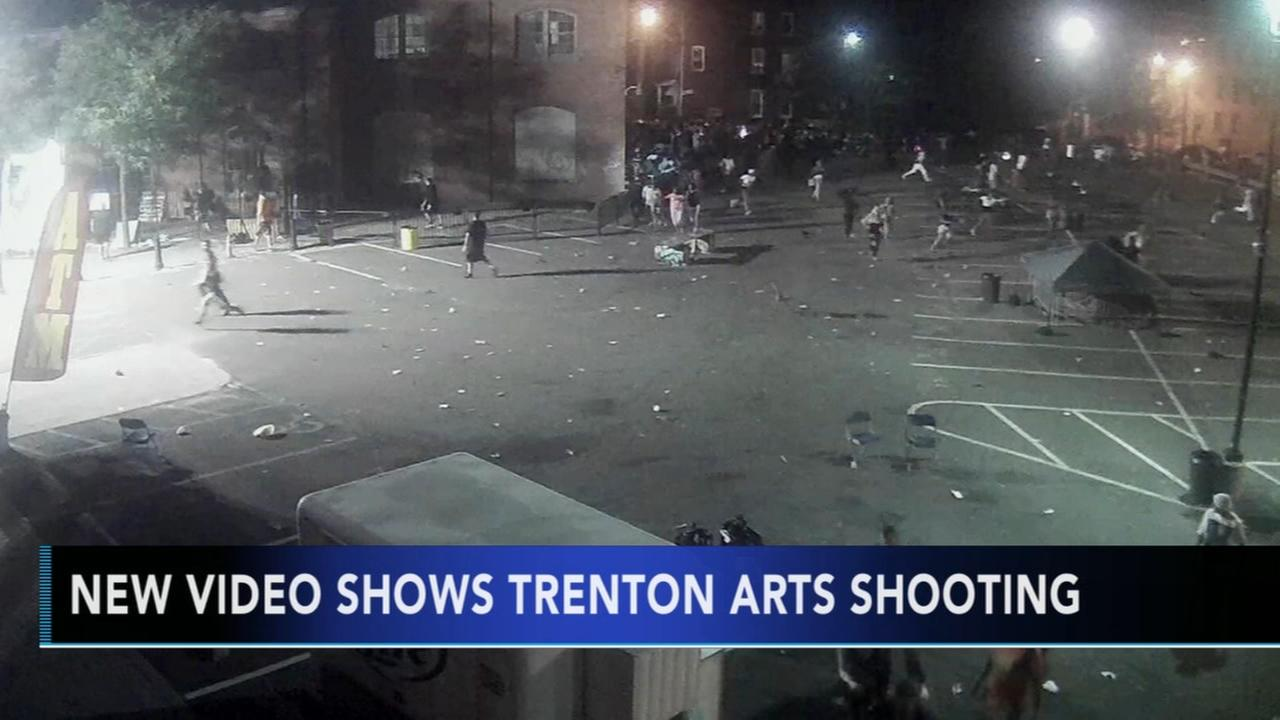 New surveillance video shows violent arts festival shooting