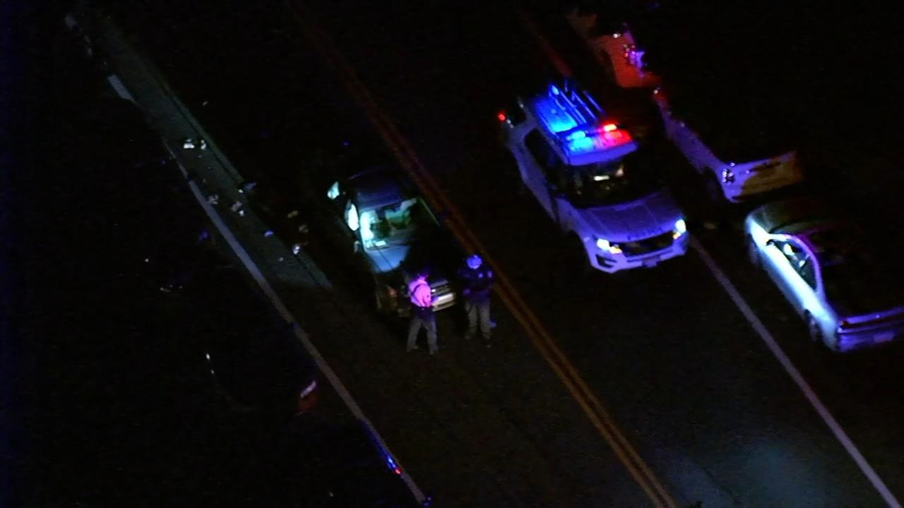 Pedestrian struck and killed by vehicle in West Mount Airy