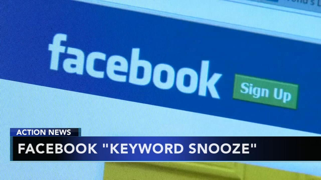 Facebook to add keyword snooze feature