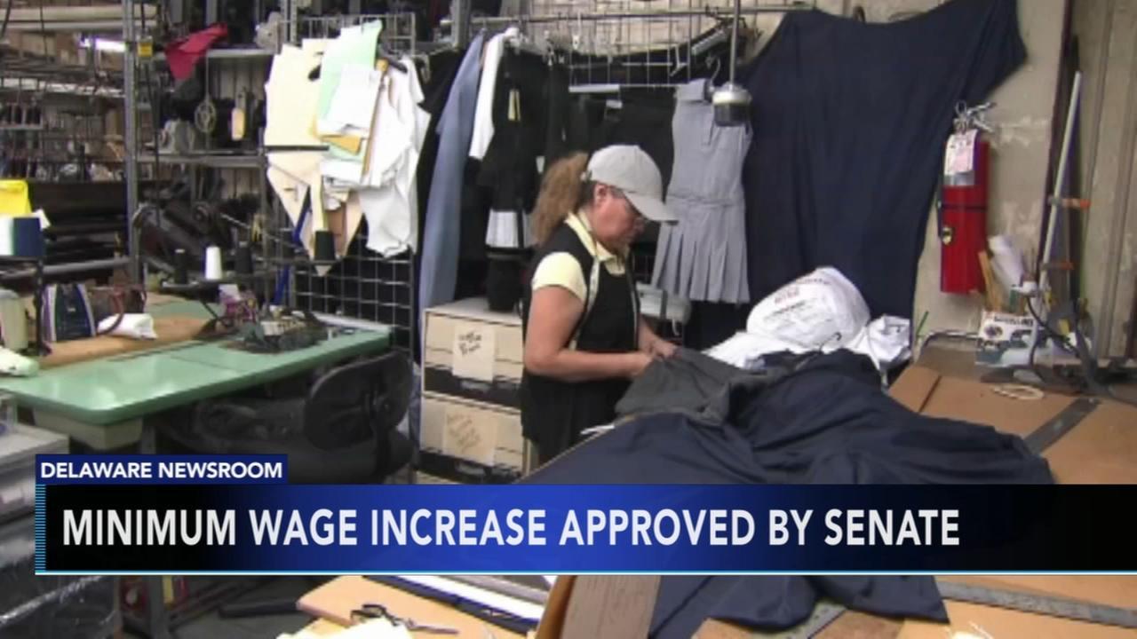 Delaware Senate approves $1 minimum wage increase