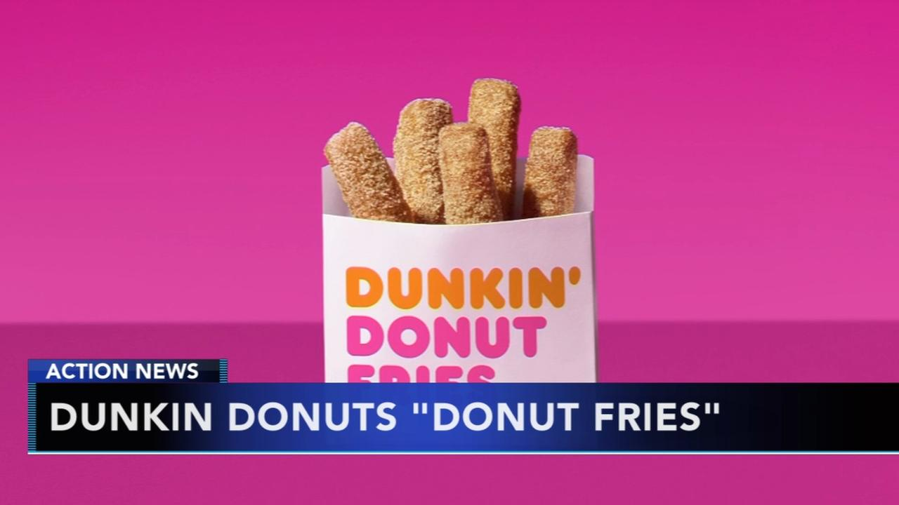 Dunkin Donuts unveils new Donut Fries creation