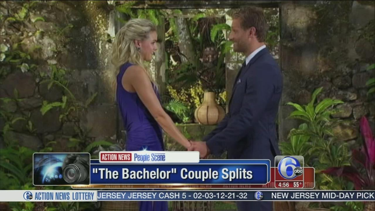 VIDEO: The Bachelor couple calls it quits