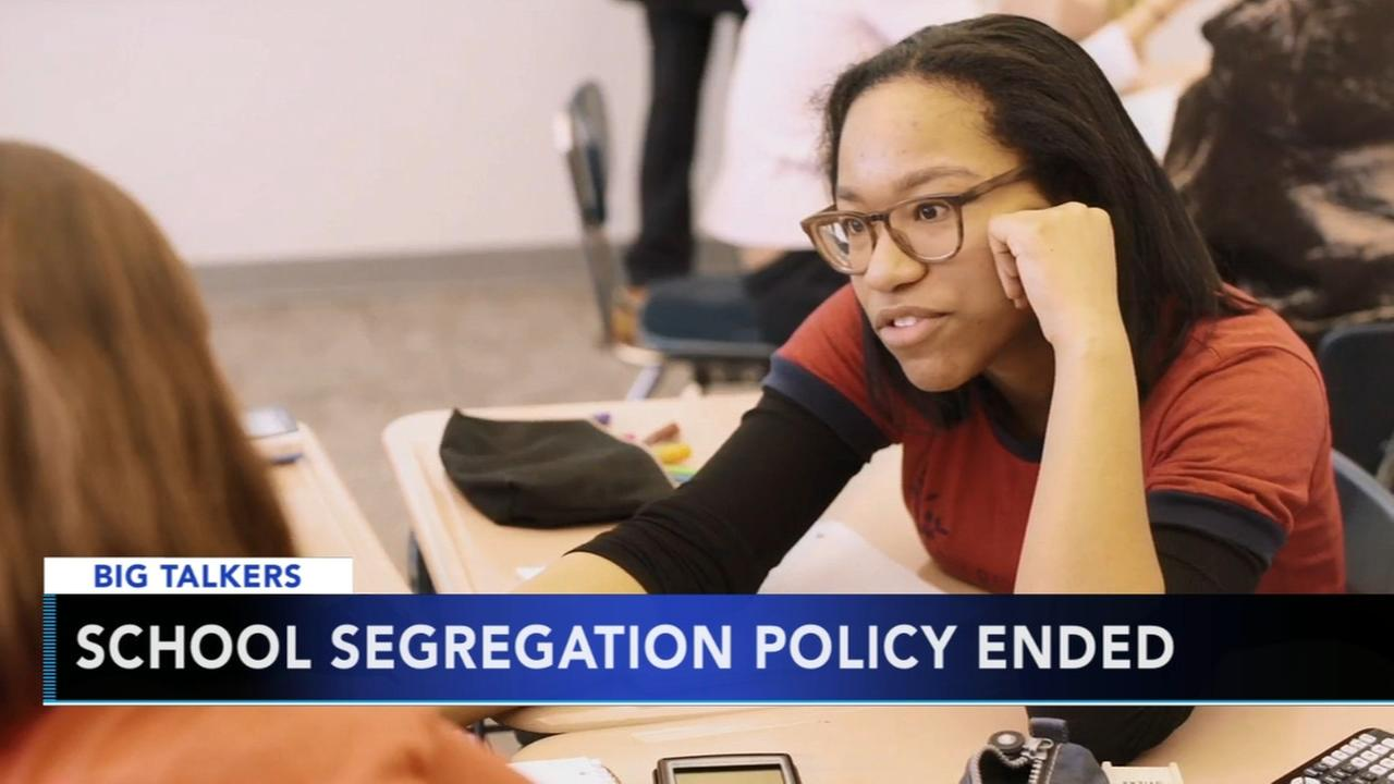 School segregation policy ended