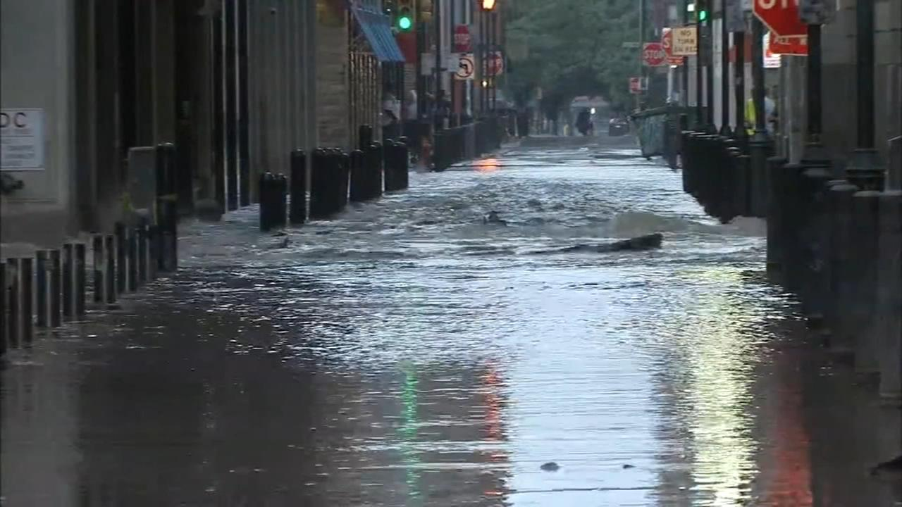 Businesses impacted by Center City water main break
