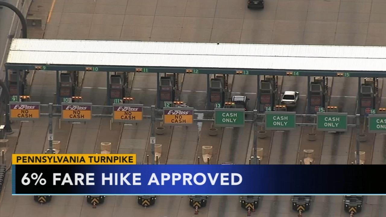 Turnpike fare hike approved