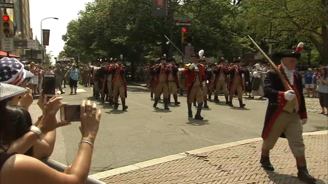 Philly July 4th celebration kicks off with Old CIty parade