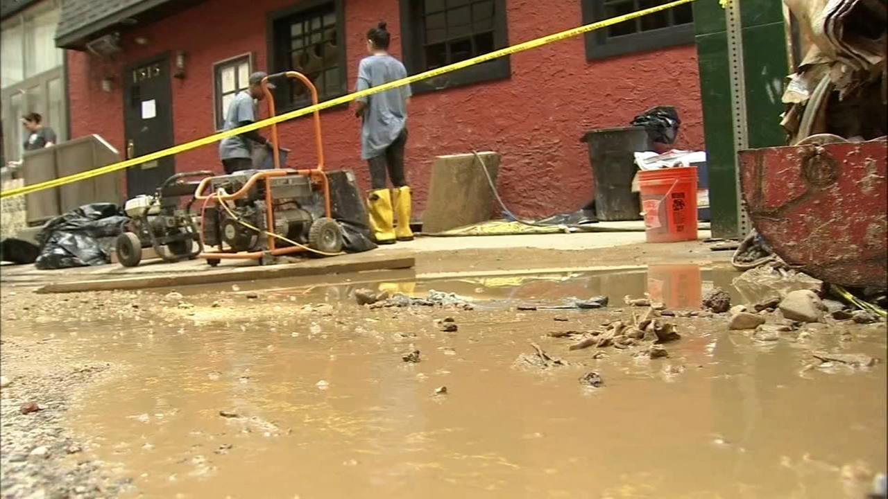 Businesses bounce back after Center City water main break
