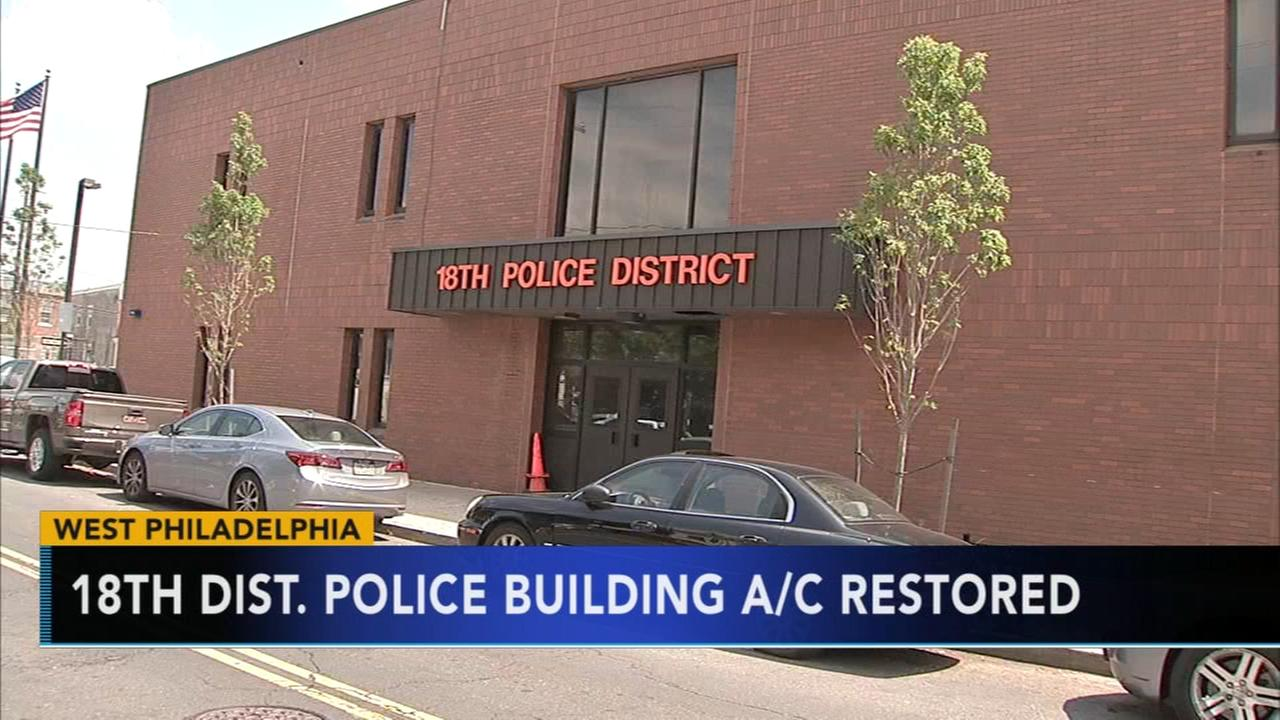 Air conditioning failure causes relocation of police district