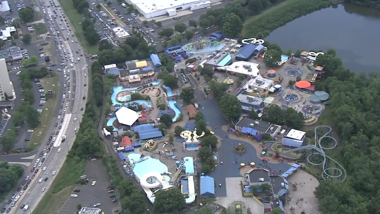 Sesame Place closes early due to nearby water main break