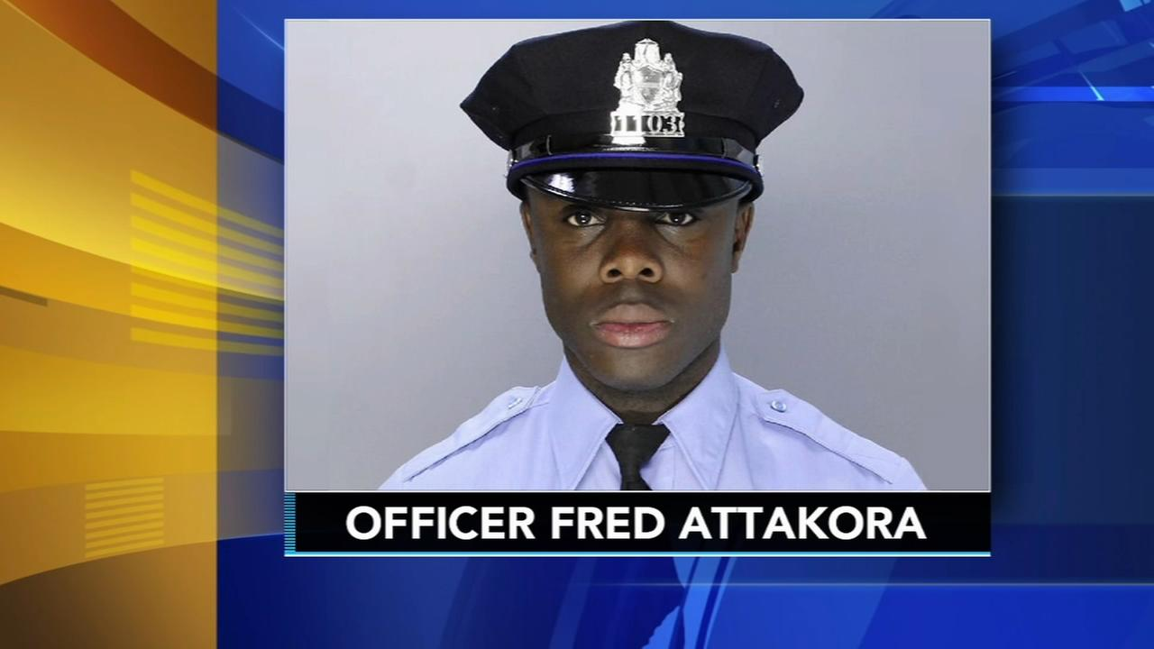 1 man killed, off-duty Philly cop injured by stray bullets