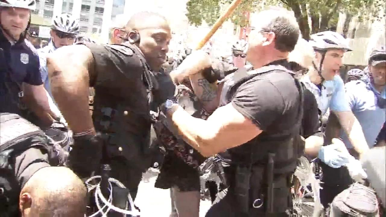 Protesters arrested at Philadelphia ICE building