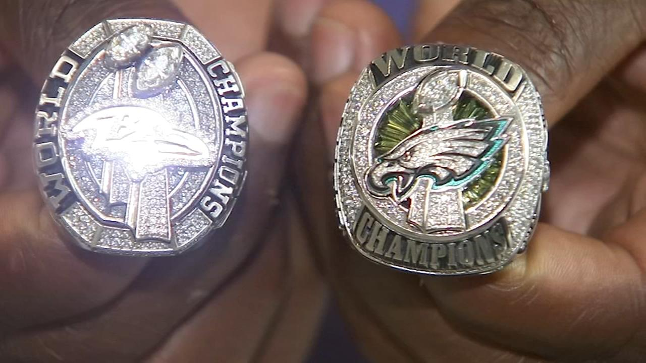 Former Eagle uses championship rings to help local track team