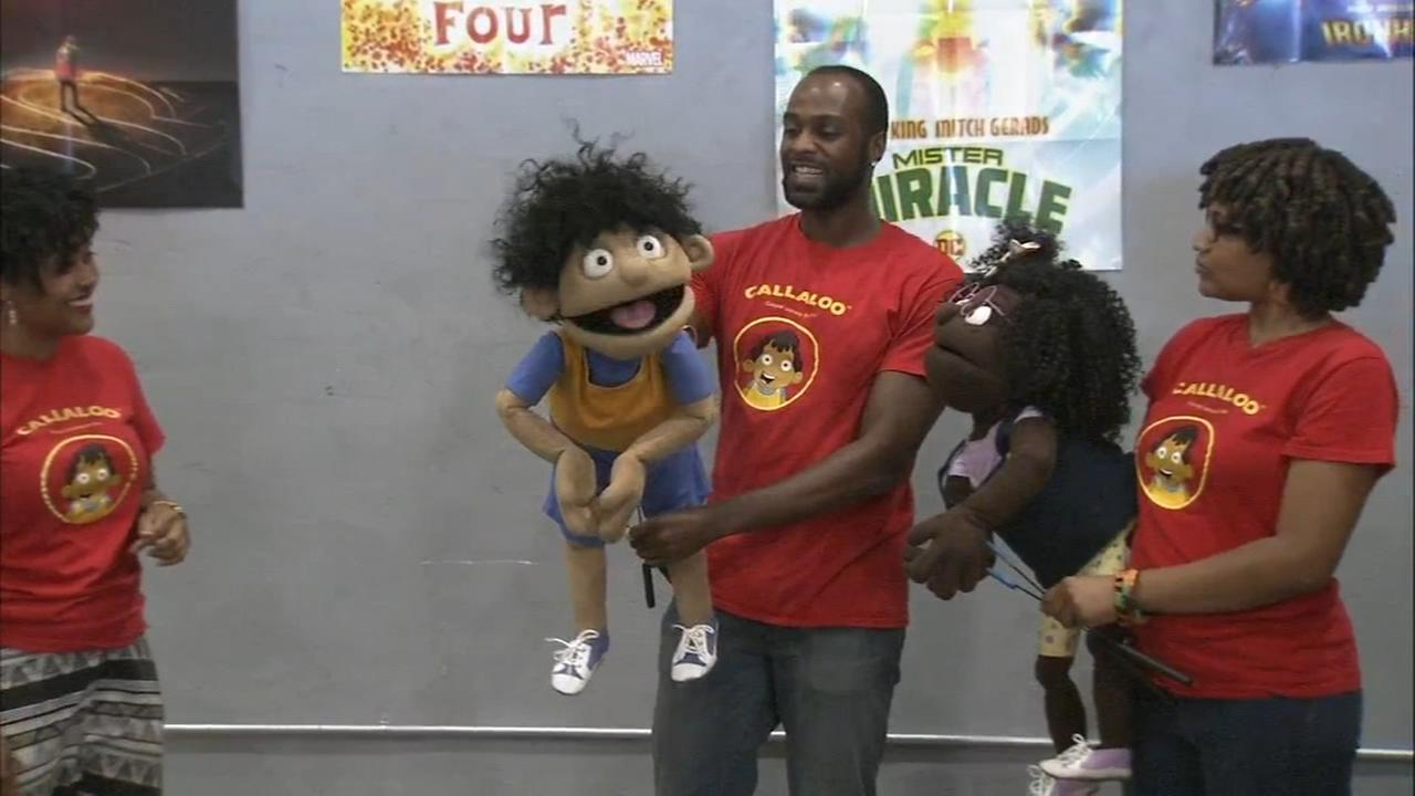 Heritage puppets teach kids about cultural differences