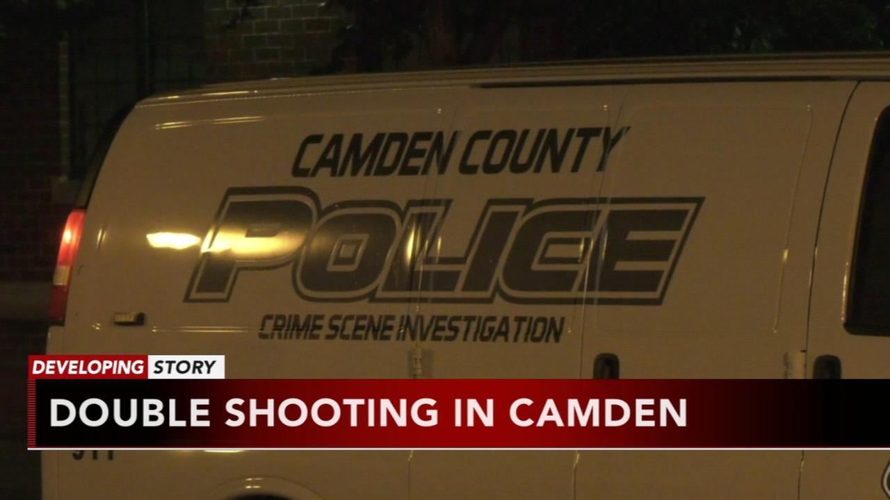 2 men shot outside lounge in Camden
