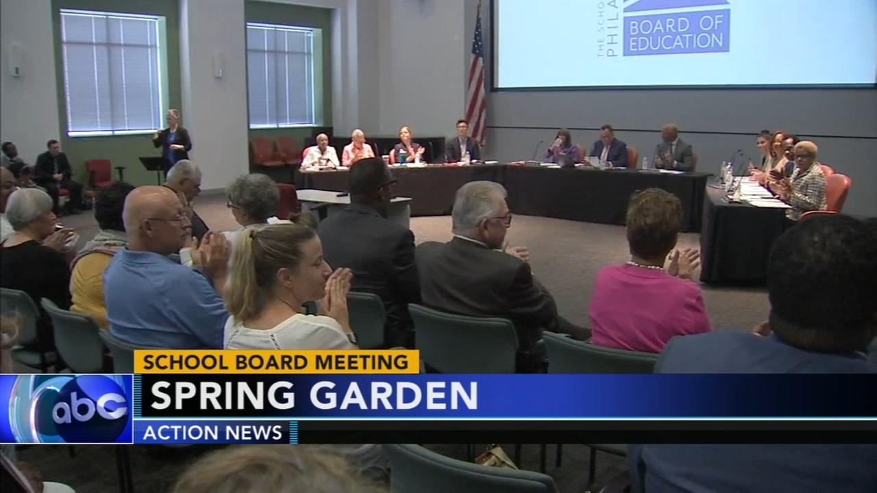 New school board holds first meeting