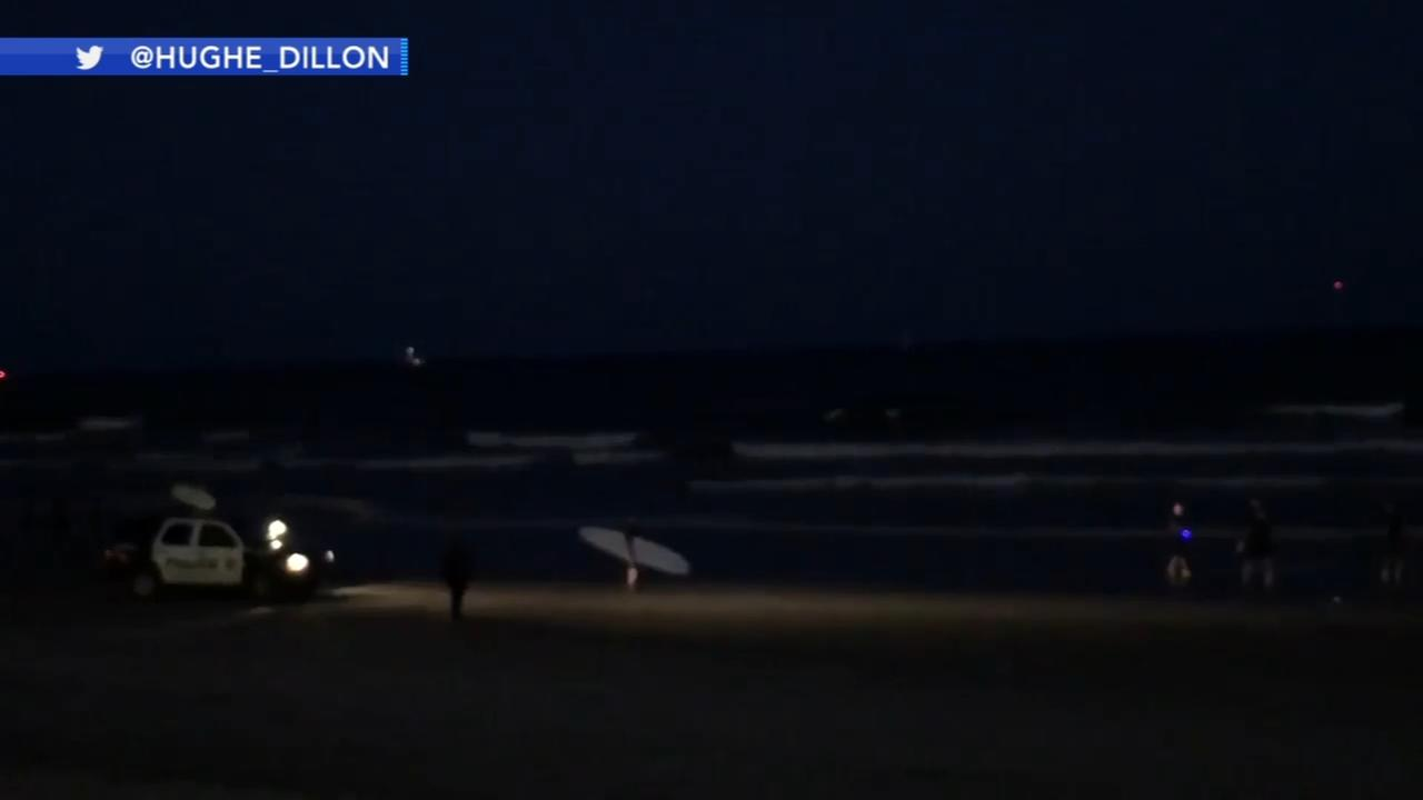 Search suspended for missing swimmer in A.C.