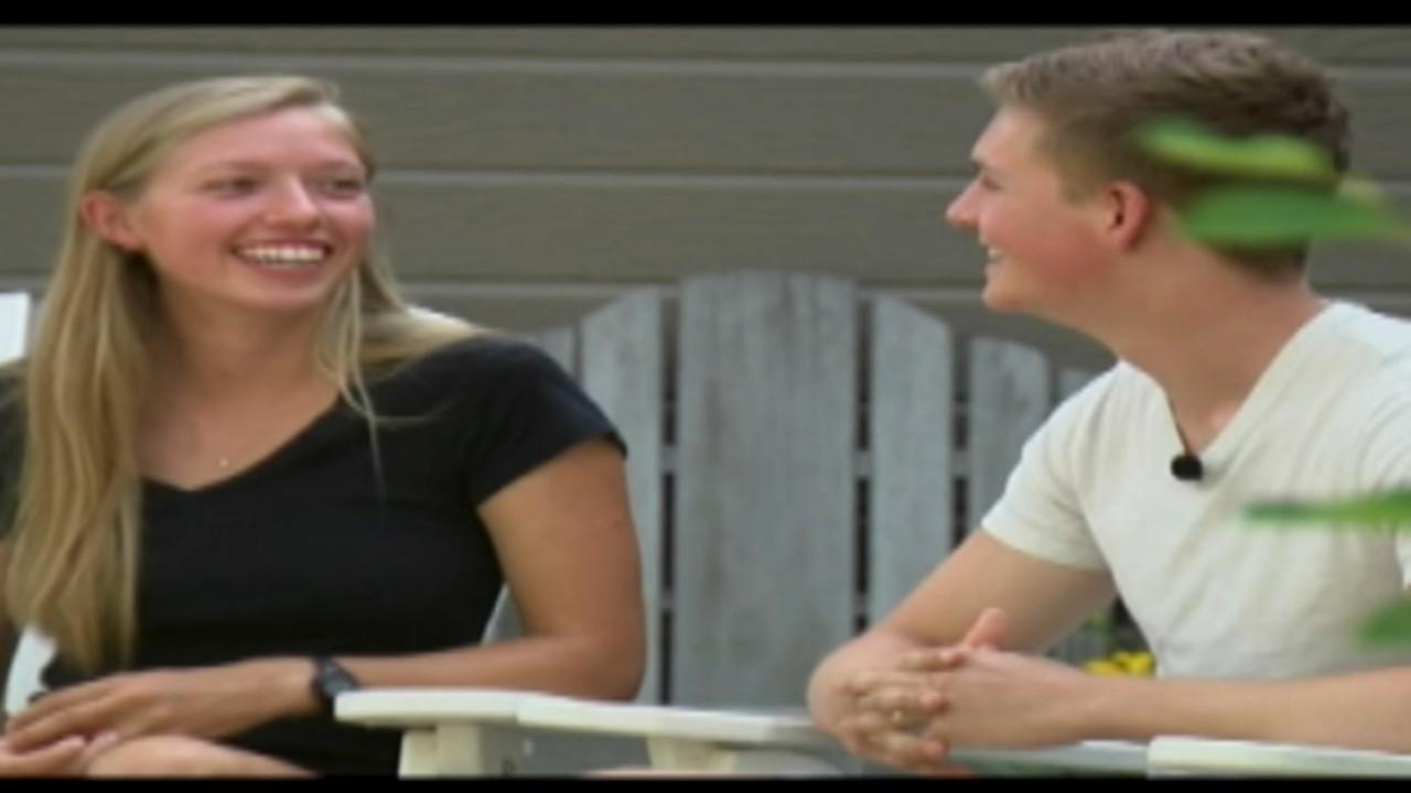 Girlfriend revives teen after lightning strike