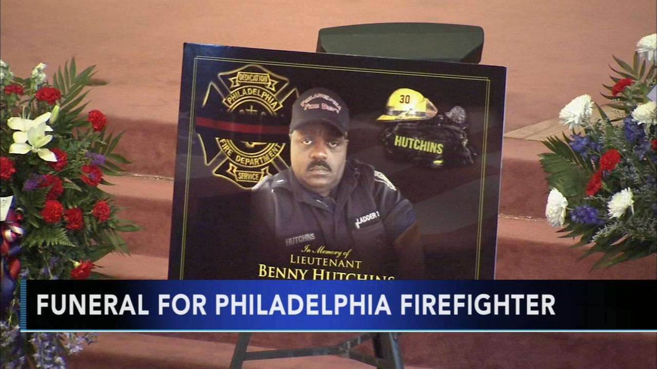 Funeral for firefighter who died following training exercise