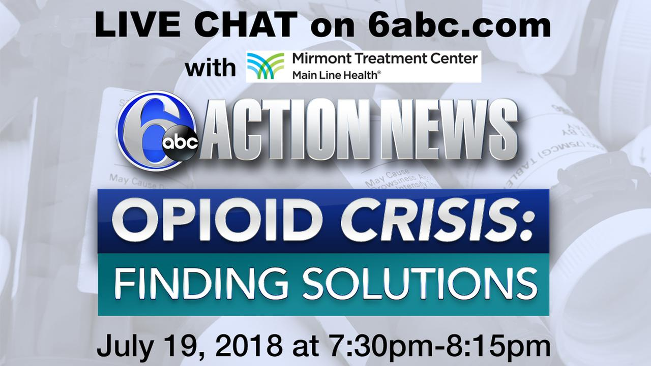 CHAT TRANSCRIPT from Opioid Crisis: Finding Solutions