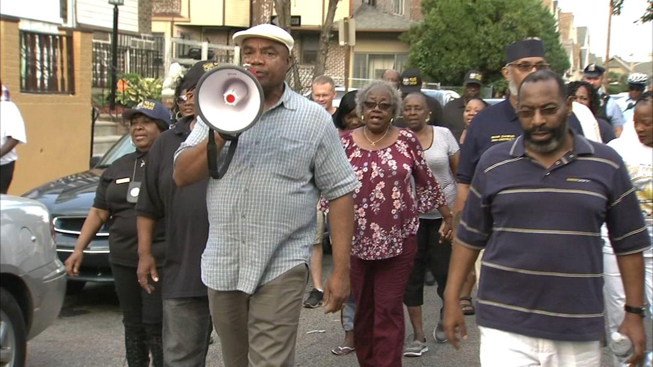 Prayer walk to end gun violence takes place in Logan