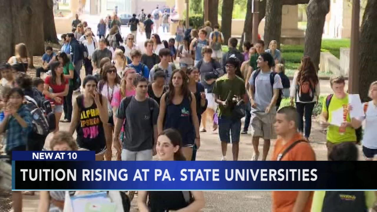 Pennsylvania state system tuition to rise amid budget gap