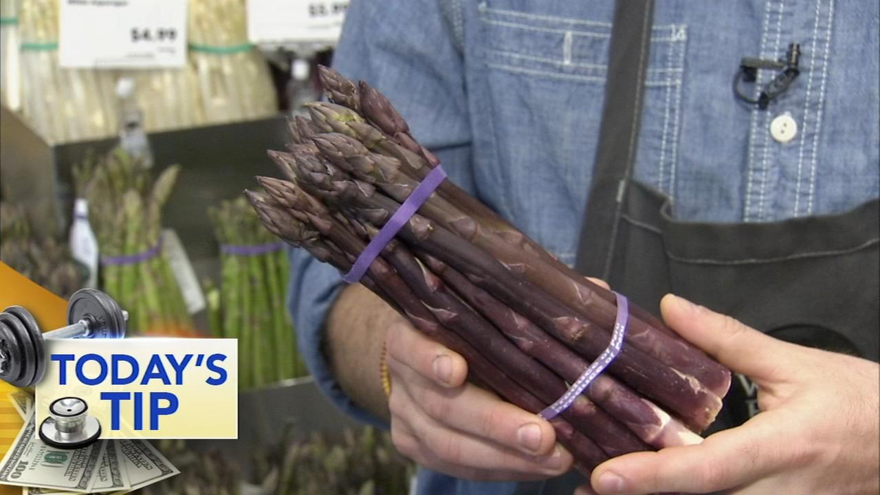 Purple asparagus - Todays Produce Tip