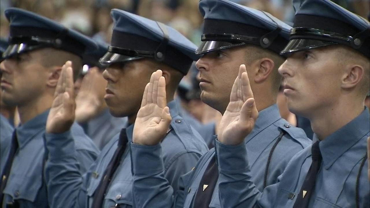 Dozens welcomed into the law enforcement community in New Jersey
