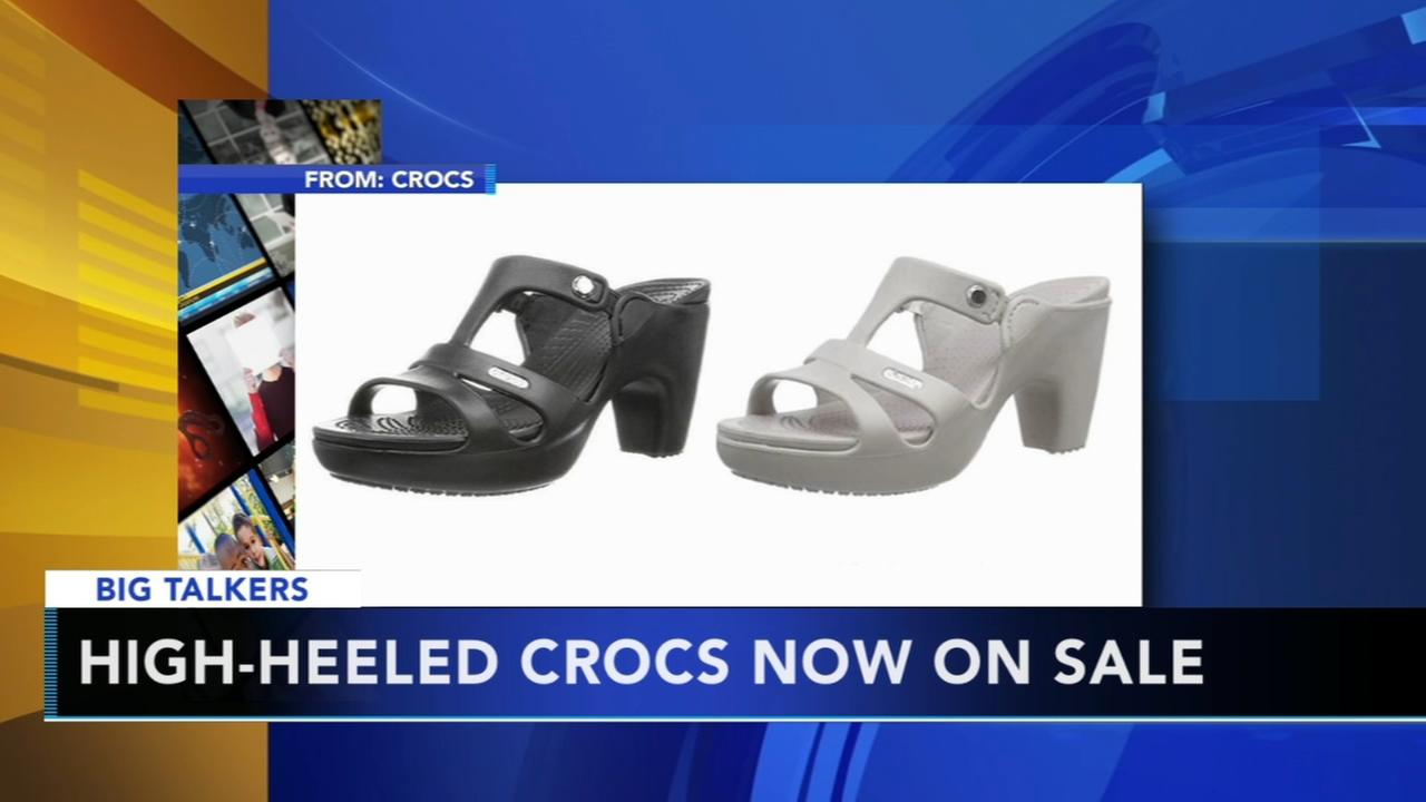 High-heeled Crocs are officially a thing