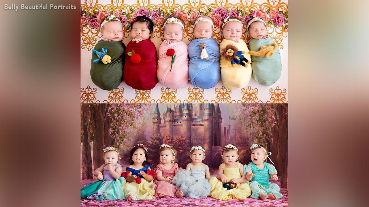 A photographer who specializes in creating elaborate Disney Princess-themed photo shoots involving newborns is going viral after she shared an adorable photo.