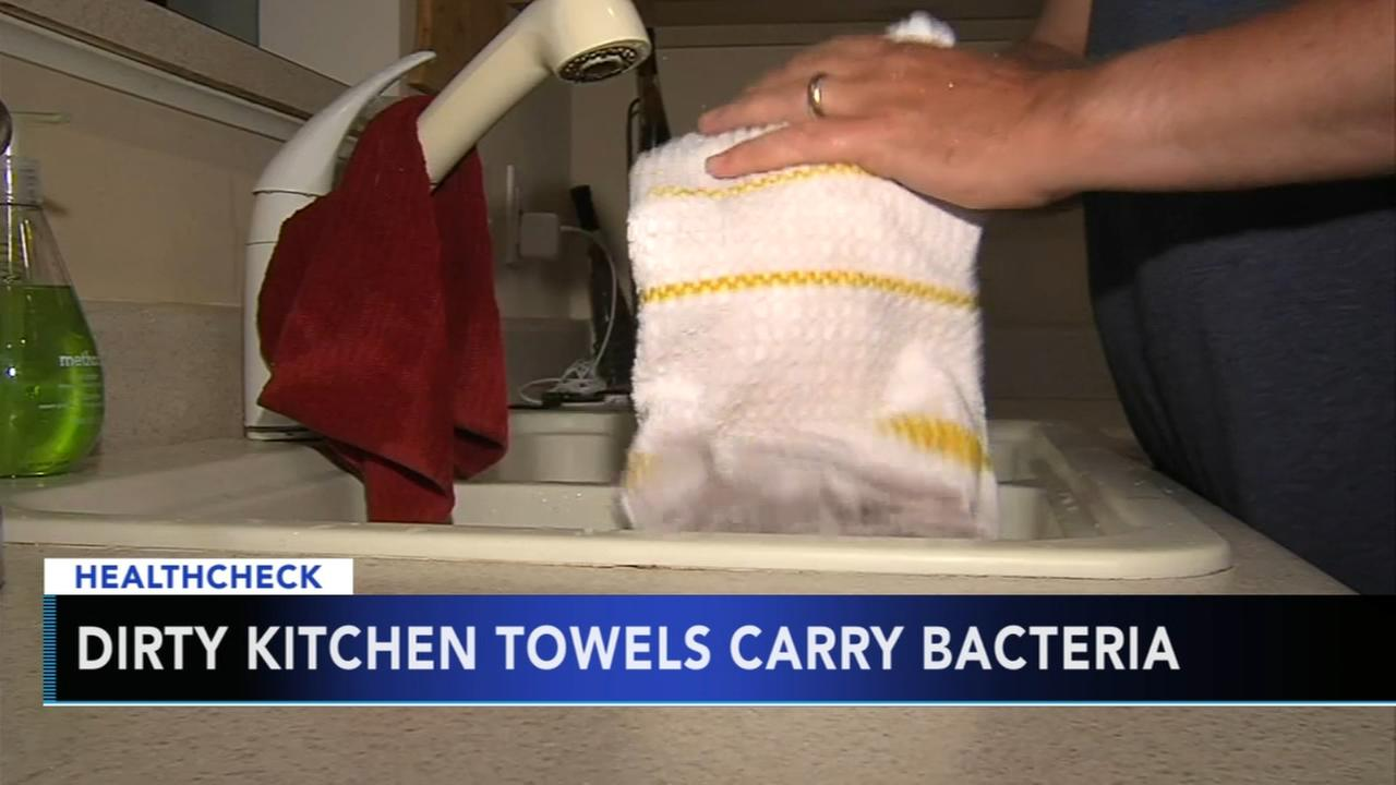 Research shows you may not be washing your kitchen towel often enough