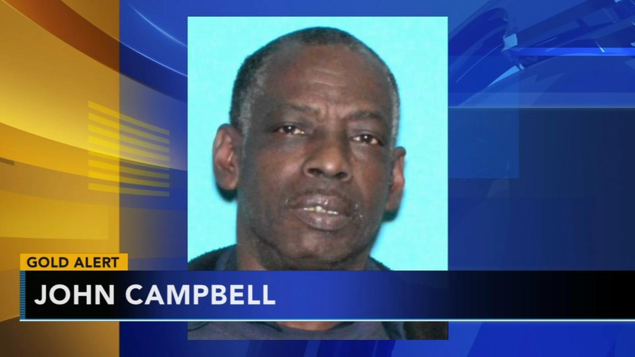 Gold Alert issued for missing 70-year-old Delaware man