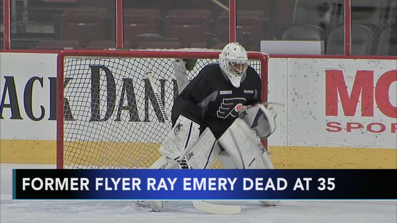 Former Flyer Ray Emery dead at 35